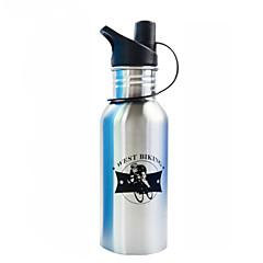 WEST BIKING® 600 ML Stainless Steel Non-staining Bike Water Bottle