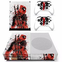 abordables Xbox One Adhesivos-B-SKIN XBOX ONE  S PS / 2 Adhesivo Para Xbox One S ,  Novedades Adhesivo PVC 1 pcs unidad