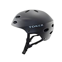 tanie -Kask rowerowy Kolarstwo 10 Otwory wentylacyjne Sport ekstremalny Górski Sportowy Kolarstwo górskie Kolarstwo Wspinaczka Ski Jazda na