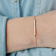 preiswerte Armbänder-Ketten- & Glieder-Armbänder - Blattform Böhmische, Boho, Film-Schmuck Armbänder Gold / Silber Für Weihnachts Geschenke Hochzeit Party