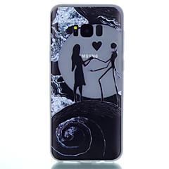 Etui Käyttötarkoitus Samsung Galaxy S8 Plus S8 Hehkuu pimeässä Kuvio Takakuori Scenery Pehmeä TPU varten S8 S8 Plus S7 edge S7 S6 edge