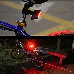 halpa Pyöräilyvalot-Polkupyörän jarruvalo LED Pyöräily Smart Kauko-ohjain Helppo kantaa Laser Lumenia Punainen Pyöräily