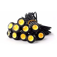 abordables Luces de Circulación Diurna-ZIQIAO Coche Bombillas 9W 110lm LED Luz de Intermitente For Universal