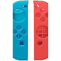 Недорогие Аксессуары для Nintendo Switch-Насадки Назначение Nintendo Переключатель,Силикон Насадки Беспроводной