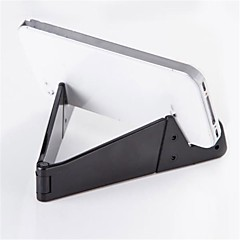 tablet stand Plastic Desk Table tablet holder Folding Adjustable Flexible Portable Black