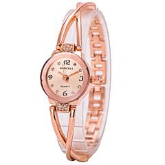 preiswerte Tolle Angebote auf Uhren-Damen Armband-Uhr Quartz Imitation Diamant Legierung Band Analog Charme Gold - Gold Ein Jahr Batterielebensdauer / Tianqiu 377