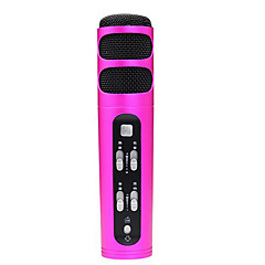 no Alámbrico Micrófono de Karaoke 3.5mm Rojo