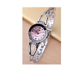 preiswerte Tolle Angebote auf Uhren-Damen Armband-Uhr Simulierter Diamant Uhr Quartz Silber 30 m Armbanduhren für den Alltag / Analog-Digital damas Charme - Weiß Schwarz Rosa / Edelstahl