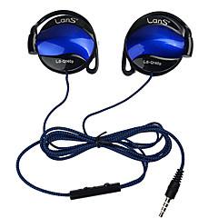 Shini ls-q140p hörlurar 3.5mm headset öronkrok hörlurar för mp3-spelare dator mobiltelefon hörlurar