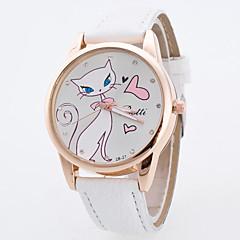 preiswerte Damenuhren-Damen Sportuhr / Armbanduhr Großes Ziffernblatt Stoff Band Charme / Modisch / Kleideruhr Mehrfarbig