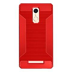 For Stødsikker Etui Bagcover Etui Helfarve Blødt TPU for Xiaomi Xiaomi Redmi 3 Xiaomi Redmi Note 3
