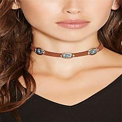 preiswerte Halsketten-Damen Halsketten - Retro, Böhmische, Grundlegend Schwarz, Beige, Braun Modische Halsketten Für Alltag, Normal