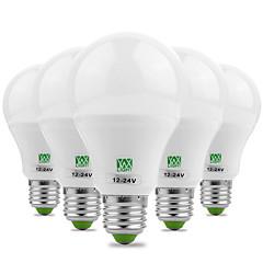 preiswerte LED-Birnen-YWXLIGHT® 7W 600-700 lm E26/E27 LED Kugelbirnen 14 Leds SMD 5730 Dekorativ Warmes Weiß Kühles Weiß Wechselstrom 12V DC 12-24V