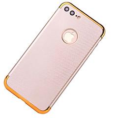 Для Покрытие Кейс для Задняя крышка Кейс для Один цвет Твердый Углеволокно для AppleiPhone 7 Plus iPhone 7 iPhone 6s Plus iPhone 6 Plus