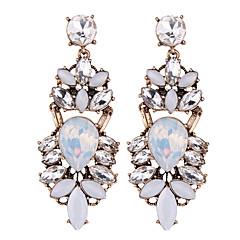 tanie Kolczyki-Damskie Kolczyki wiszące Biżuteria Vintage euroamerykańskiej Modny Syntetyczne kamienie szlachetne Chrom Inne Biżuteria Ślub Impreza