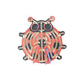 Educatief speelgoed Houten puzzels Doolhof & Volgordepuzzels Doolhof Speeltjes Kinderen 1 Stuks