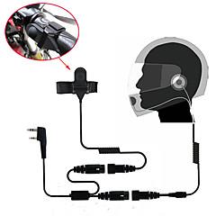 お買い得  トランシーバー-オートバイのフルフェイスヘルメットヘッドセットイヤホンの双方向ラジオウォーキートーキー365 baofengケンウッドwanhua