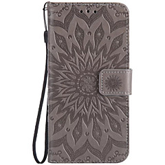 For LGV20 K10 Card Holder Wallet Flip Embossed Case Full Body Case Sunflower Hard PU Leather for G6 V10 LS775 Nexus5X X power C40 G5 G4mini k8 K5 K4