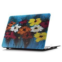 macbook taske til blomst olie maleri pvc materiale mac tilfælde& mac tasker& mac ærmer