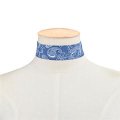 お買い得  ネックレス-女性用 シングルストランド チョーカー  -  ベーシック, シンプルなスタイル, ファッション ダークブルー, ライトブルー ネックレス ジュエリー 用途 日常, カジュアル