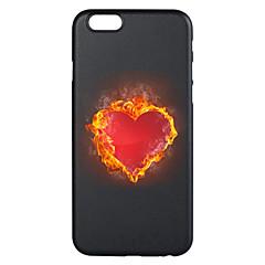 Недорогие Кейсы для iPhone 6-Кейс для Назначение Apple iPhone 7 Plus iPhone 7 С узором Кейс на заднюю панель С сердцем Мягкий ТПУ для iPhone 7 Plus iPhone 7 iPhone 6s