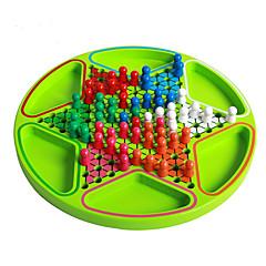 Brettspiel Schachspiel Spielzeuge Kreisförmig Holz Stücke Kinder Unisex Geschenk