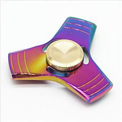 abordables Fidget spinners-Fidget spinners Hilandero de mano Alivia ADD, ADHD, Ansiedad, Autismo Juguetes de oficina Juguete del foco Alivio del estrés y la