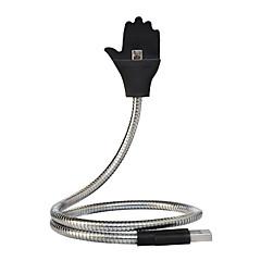 Χαμηλού Κόστους Στηρίγματα & Βάσεις-Βάση και στήριξη τηλεφώνου Αυτοκίνητο Γραφείο Ρυθμιζόμενη βάση Σταντ με Μετασχηματιστή ABS for Κινητό Τηλέφωνο