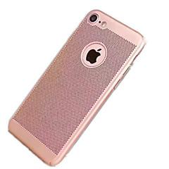 Недорогие Кейсы для iPhone-Кейс для Назначение Apple iPhone 7 / iPhone 7 Plus Ультратонкий Кейс на заднюю панель Однотонный Твердый ПК для iPhone 7 Plus / iPhone 7 / iPhone 6s Plus