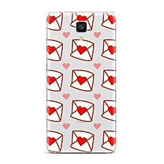 Varten Läpinäkyvä Kuvio Etui Takakuori Etui Sydän Pehmeä TPU varten XiaomiXiaomi Mi 5 Xiaomi Mi 4 Xiaomi Mi 5s Xiaomi Mi 5s Plus Xiaomi