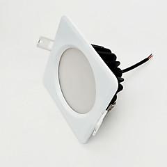 voordelige Binnenverlichting-ZDM 9W Dimbare 800-850lm IP65 waterproof wit vierkant led lamp dimmen AC220V