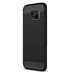 olcso Galaxy S6 tokok-Case Kompatibilitás Samsung Galaxy S7 edge S7 Other Hátlap Tömör szín Puha TPU mert S7 edge S7 S6 edge S6