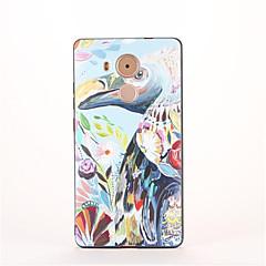 Для С узором Кейс для Задняя крышка Кейс для Фламинго Мягкий TPU для Huawei Huawei Mate 9 Huawei Mate 8