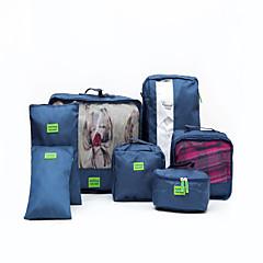 7 جهاز كمبيوتر شخصى منظم أغراض السفر مقاوم للماء المحمول تخزين السفر إلى أحذية ملابس نايلون إلى السفر