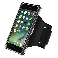 Voor iPhone 8 iPhone 8 Plus Hoesje cover Armband Armband hoesje Effen Kleur Hard PC voor Apple iPhone 7s Plus iPhone 8 iPhone 7 Plus