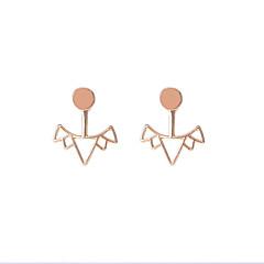 preiswerte Ohrringe-Damen Ohrstecker - Geometrisch, Kreuz, Modisch Gold / Silbern Für Alltag Normal