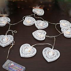 preiswerte LED Lichtstreifen-1 stücke 5 v 1,2 mt 10 leds warmweiß urlaub dekoration dekorative led string lichter