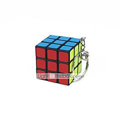 Rubik's Cube Cube de Vitesse  Autocollant lisse ressort réglable Cubes magiques Porte-clés Carré Cadeau