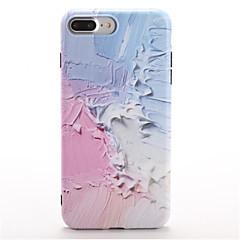 Недорогие Кейсы для iPhone 7-Кейс для Назначение iPhone 7 Plus IPhone 7 Apple С узором Кейс на заднюю панель Градиент цвета Мягкий ТПУ для iPhone 7 Plus iPhone 7