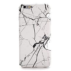 Недорогие Кейсы для iPhone 7-Кейс для Назначение Apple iPhone 7 / iPhone 7 Plus С узором Кейс на заднюю панель Мрамор Твердый ПК для iPhone 7 Plus / iPhone 7 / iPhone 6s Plus