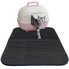 お買い得  猫ケア用品、グルーミング-ネコ ベッド ペット用 マット / パッド ソリッド 防水 / 高通気性 / 両面 ブラック ペット用
