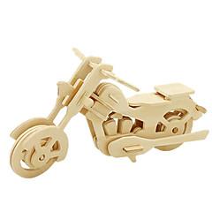 Sets zum Selbermachen 3D - Puzzle Holzpuzzle Spielzeugautos Motorräder Spielzeuge Motorrad 3D Heimwerken Unisex Stücke