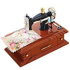 Music Box Zabawki Kwadrat Drewniany Sztuk Dla obu płci Urodziny Prezent