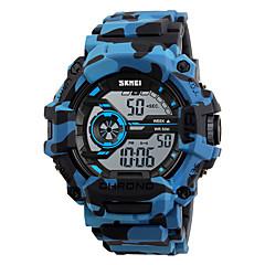 preiswerte Damenuhren-SKMEI Herrn digital Digitaluhr / Armbanduhr / Militäruhr / Sportuhr Japanisch Alarm / Kalender / Chronograph / Wasserdicht / Großes