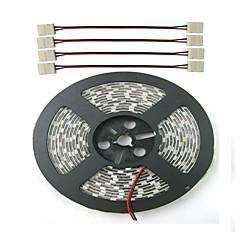 preiswerte LED Lichtstreifen-ZDM® 0,3 m / 5m Pflanzenlichtleiste 300 LEDs 5050 SMD Rot / Blau Schneidbar / Wasserfest / Verbindbar 12 V / IP65 / Selbstklebend