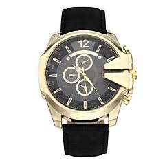 preiswerte Tolle Angebote auf Uhren-CURREN Sportuhr Militäruhr Armbanduhr Sender Armbanduhren für den Alltag, Cool Braun / Schwarz / Gold / Braun / Gold / Zwei jahr / Zwei jahr