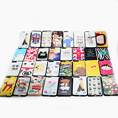 For Apple iPhone 6/6s Plus Case Cover Pattern Back Cover Case Cartoon Hard PC  Multiple Styles Random Delivery 1 pcs