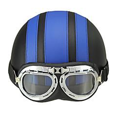 Medio Casco ABS Los cascos de motocicleta