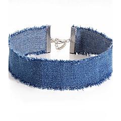preiswerte Halsketten-Damen Halsketten - Einzigartiges Design Dunkelblau, Hellblau Modische Halsketten Schmuck 1pc Für Party, Alltag, Normal