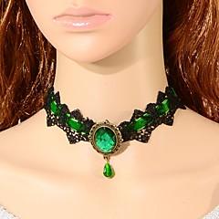 Жен. Ожерелья-бархатки В форме короны Кружево Мода Турецкий Классика Бижутерия ДляСвадьба Для вечеринок Особые случаи День рождения